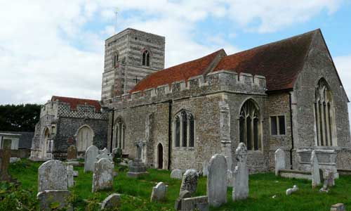 Fingringhoe St. Andrew church, photographed by Cindy Lilley