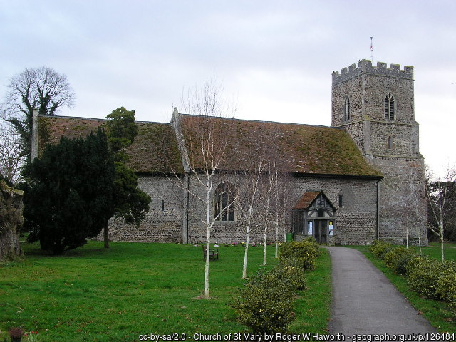 The church at Great Bentley