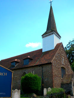 St. Martin of Tours, Chipping Ongar. Photographed by Helen Barrell
