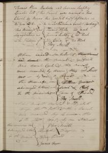 Wethersfield marriage register 1754-1812. ERO ref: D/P 119/1/4
