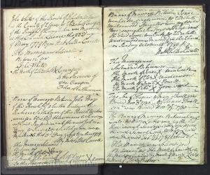 Langenhoe marriage register 1754-1795. ERO ref: D/P 401/1/1
