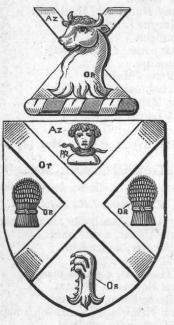 The arms of Samuel Nunn, 1885