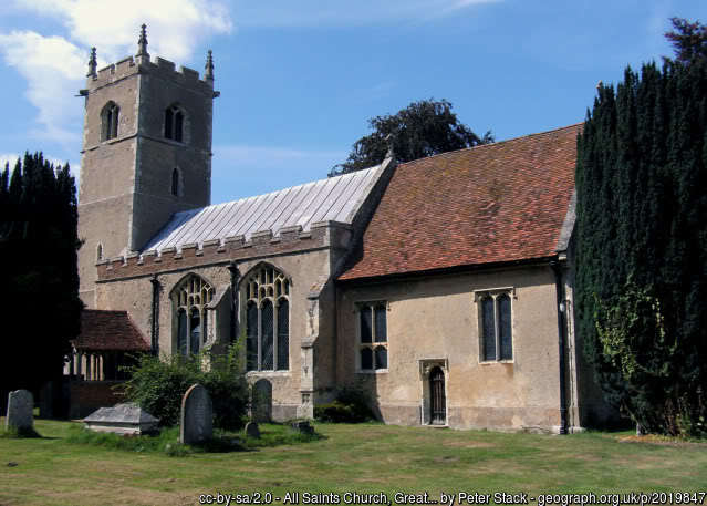 The church at Great Horkesley.