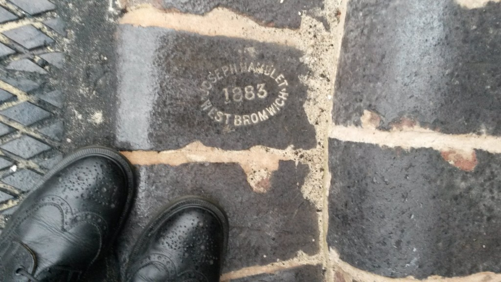 """A Joseph Hamblet """"blue brick"""""""