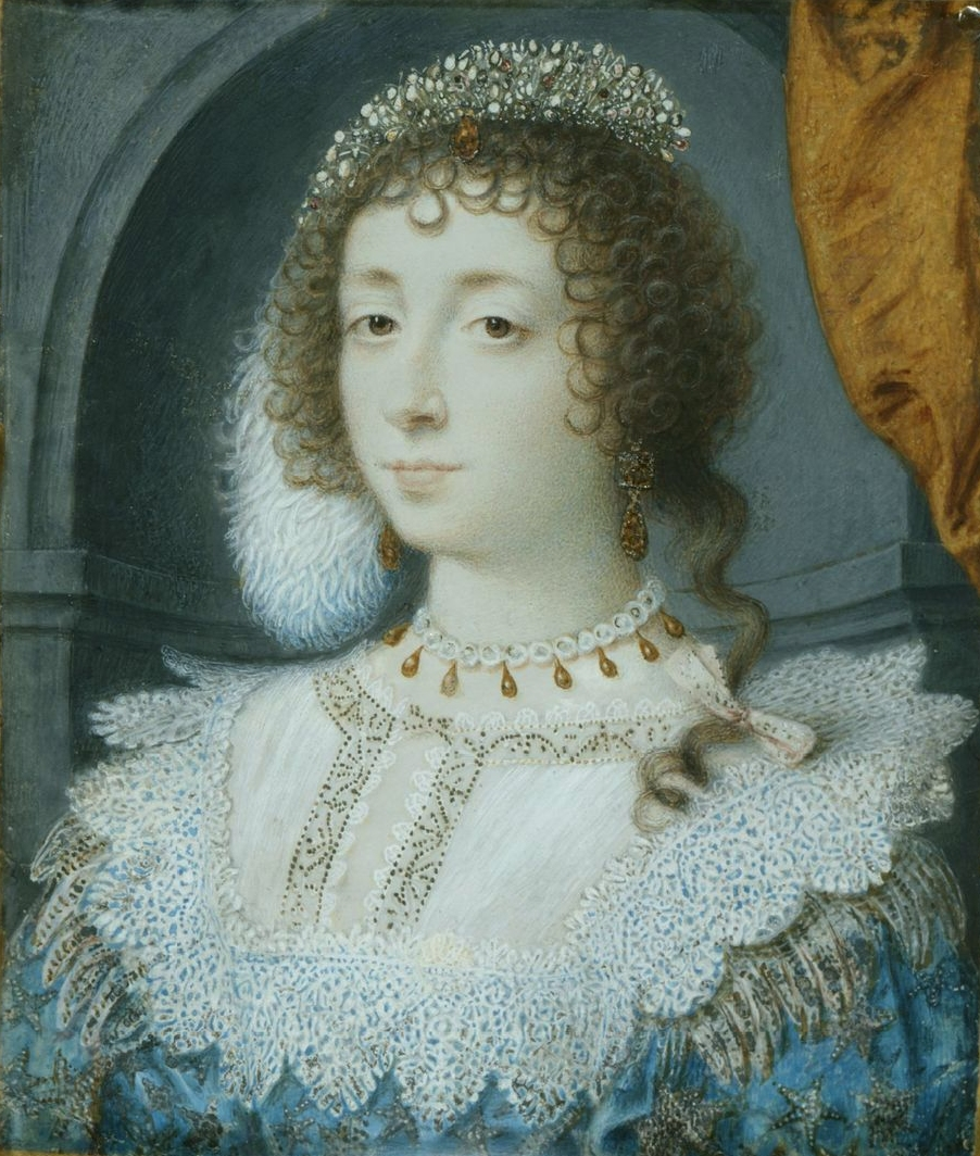 Henrietta Maria of France. Sourced from Wikipedia.