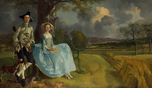 Mr & Mrs Andrews by Gainsborough. Credit: The National Gallery