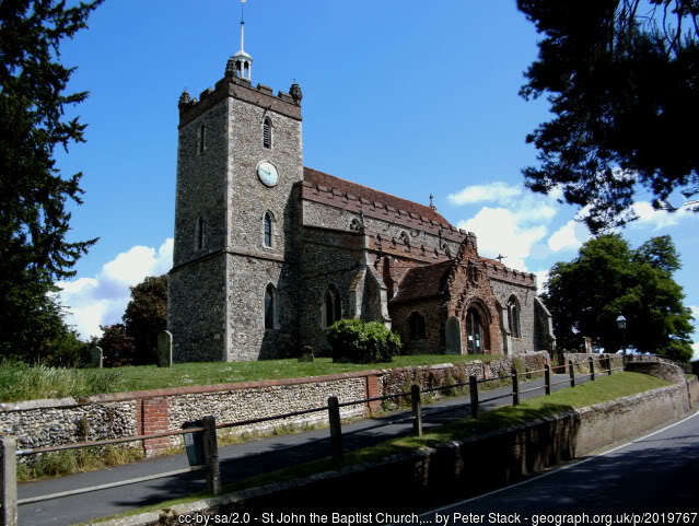 Pebmarsh church