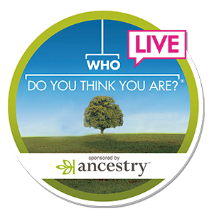 Who Do You Think You Are? Live logo