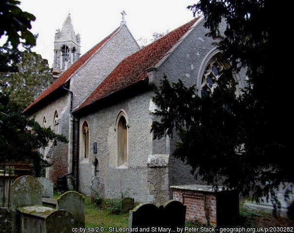 Beaumont-cum-Moze church.