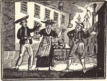 sailors-woodcut