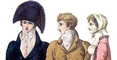 Detail from fashion plate April 1809