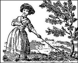 woman-rake