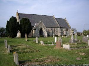 Mayland St Barnabas church and churchyard