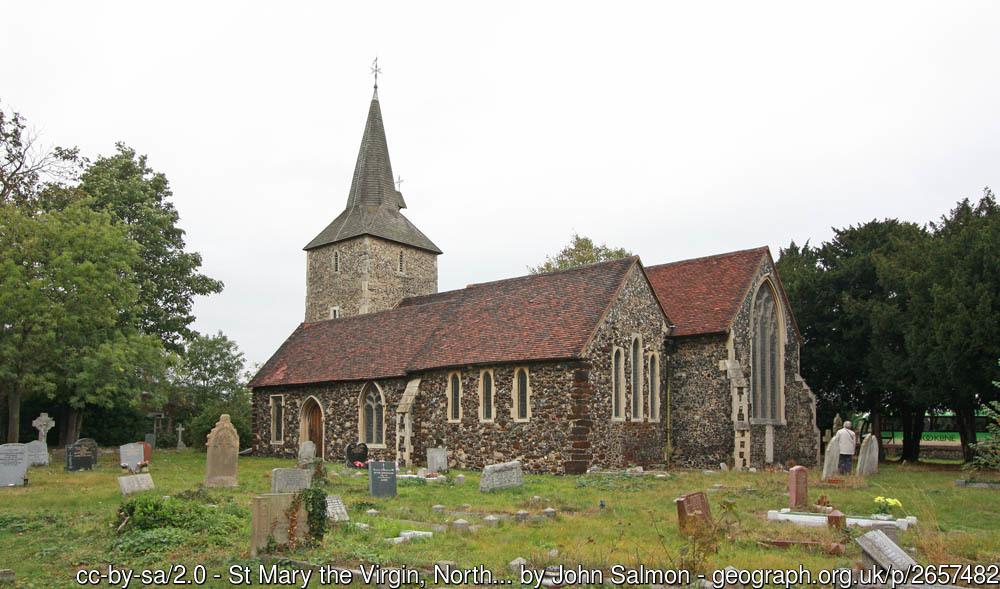 Church and churchyard at Stifford.