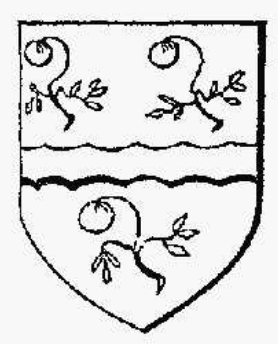 Appleton arms, created 1611