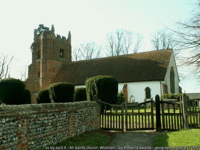 The church at Wickham St Paul