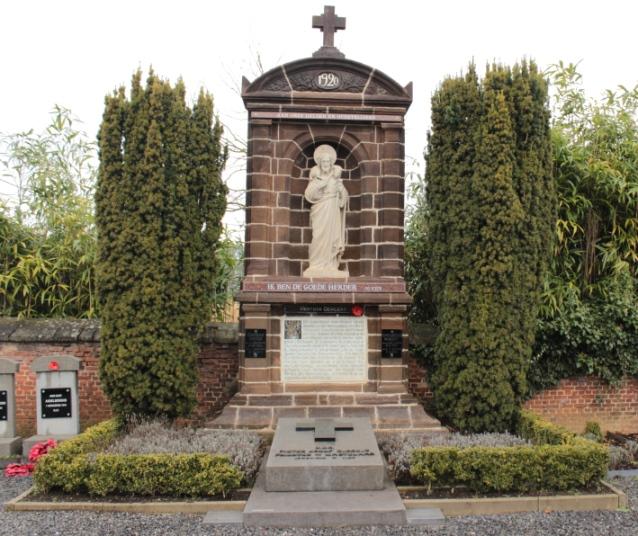 Paster Dergent's grave.