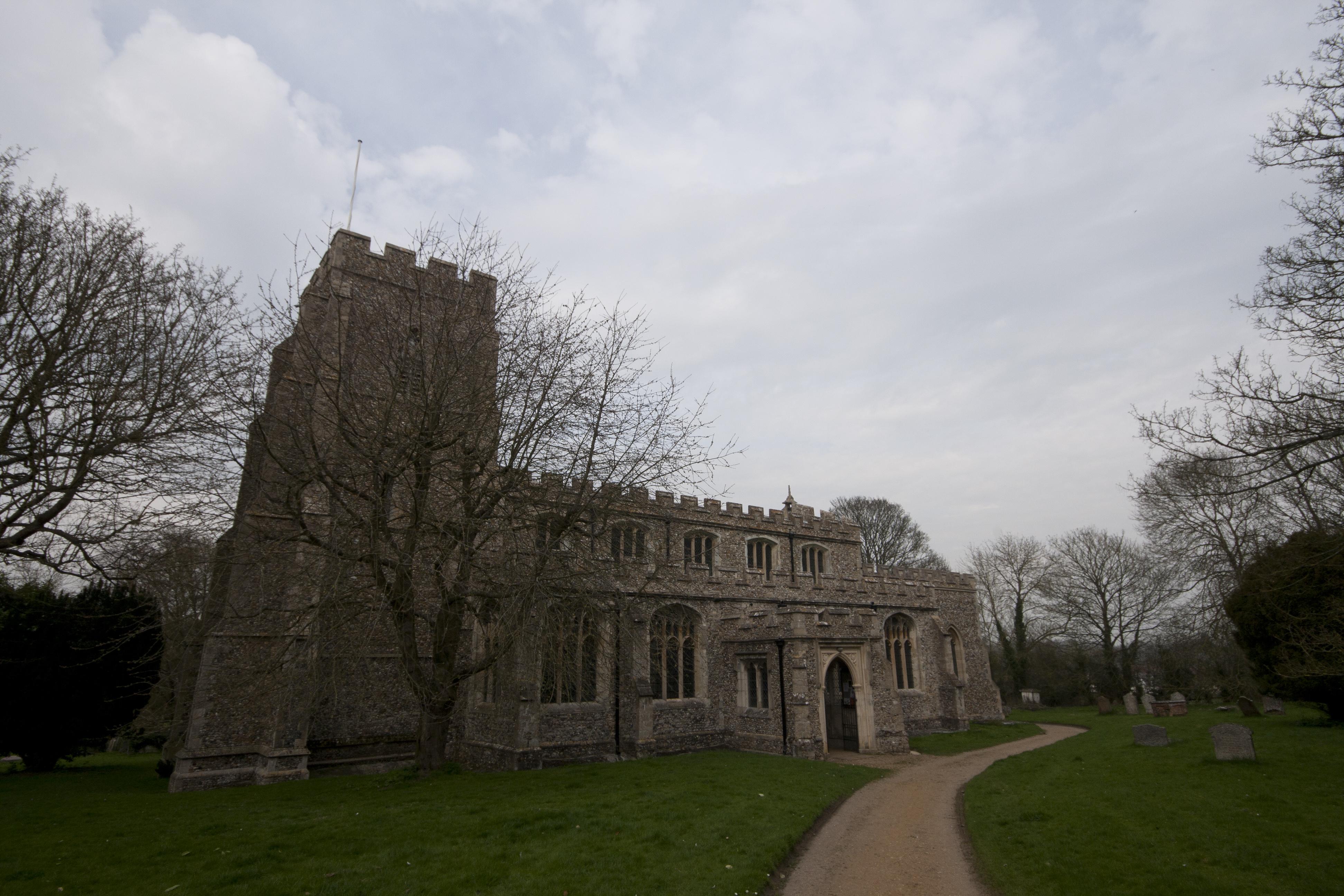 Clavering church
