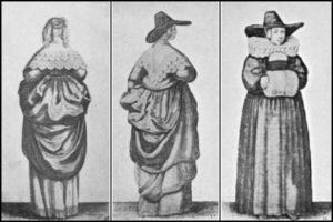 A 17th century woman