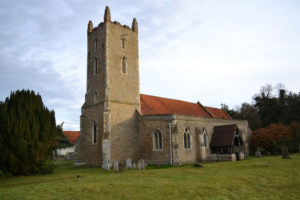 A photograph of St Mary's, Langham.